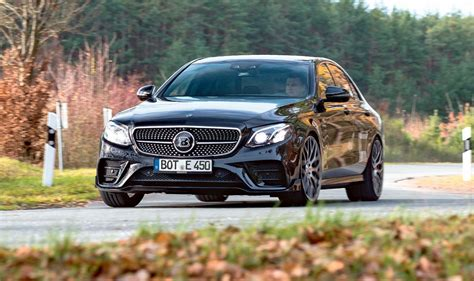E 450 Mercedes by Tuning Test Mercedes Amg E 43 Morphs Into Brabus E 450