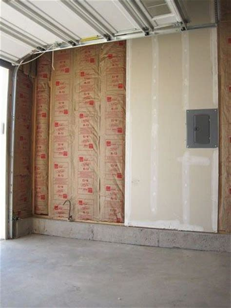 best type of insulation for garage best 25 garage walls ideas on