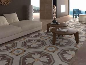 Faux Carreaux De Ciment : grands carreaux de ciment ~ Premium-room.com Idées de Décoration