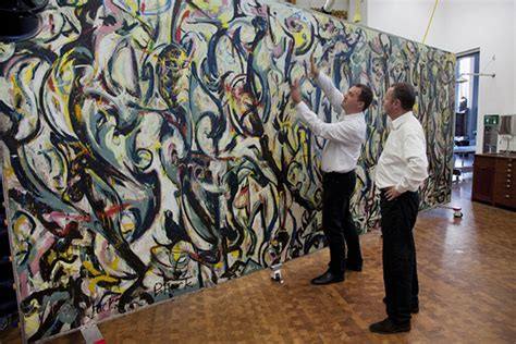 jackson pollock the mural letting jackson pollock s mural speak for itself the getty iris