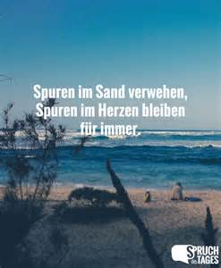 sprüche herzen spuren im sand verwehen spuren im herzen bleiben für immer