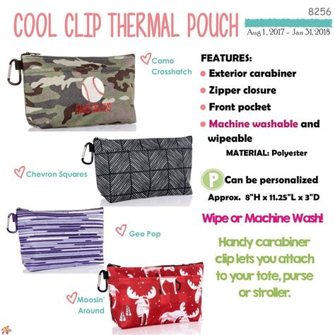 Cool Clip Cool Clip Thermal Pouch Dragonfly Daze Pouches