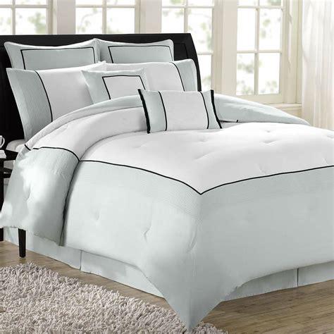 hotel 8 pc comforter bed set
