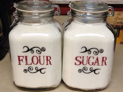 Canisters Flour Sugar by Sugar Canister Canisters And Sugar On