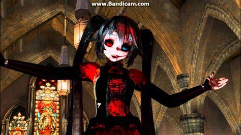 Eden Hatsune Miku Creepy Mmd Video Youtube