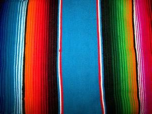 Decorate the Interior with Mexican Blankets