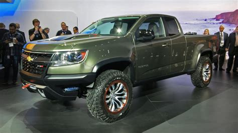 sweet truck chevrolet colorado zr concept  road wheels