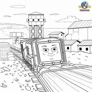 Thomas And Friends Misty Island Rescue Coloring Pages For Kids