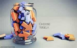 Download wallpaper Arrow, bank, phrase, choose wisely free ...