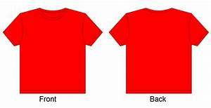 Best Photos of Red Blank T-Shirt Template - Red Blank T ...