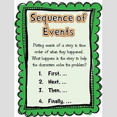 17 Best Images About Teaching Sequence Of Events On Pinterest  Retelling, Writing Graphic