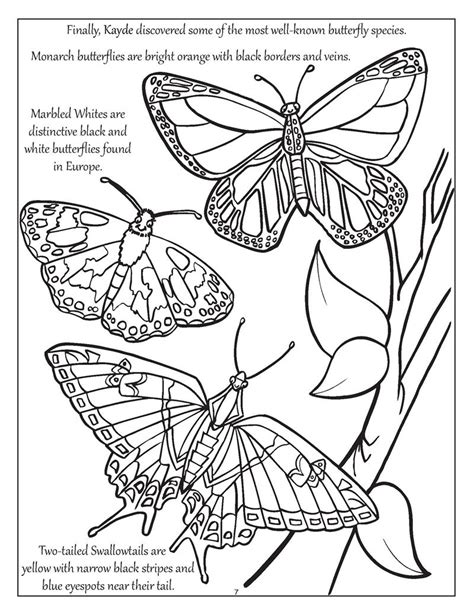 Coloring Books For by Coloring Books Personalized Big Bright Butterflies And