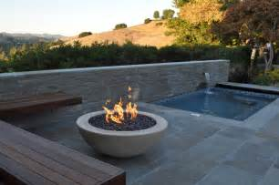 Roof Deck San Francisco by Fire Pit And Spa Modern Pool San Francisco By