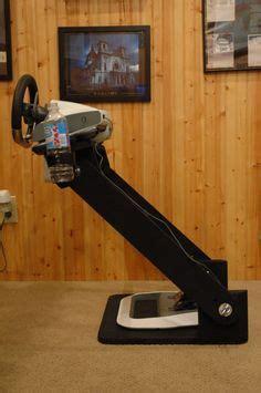 diy steering wheel stand images racing simulator