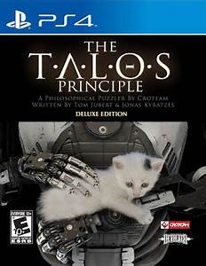 New Games THE TALOS PRINCIPLE Deluxe Edition PS4 PC