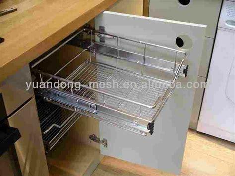 wire storage baskets for kitchen cabinets stainless steel kitchen cabinet wire storage basket