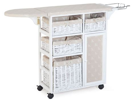 Iron Board Cupboard by Ironing Board With Storage Organization Cleaning