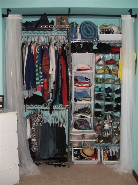 College Closet Organization Ideas by Tip Since Closets Are Significantly Smaller Than