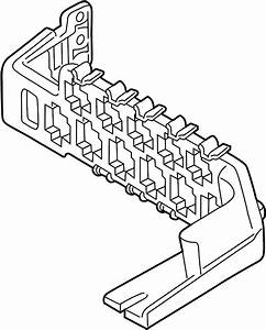 Volkswagen Passat Wagon Fuse And Relay Center Base  Relay