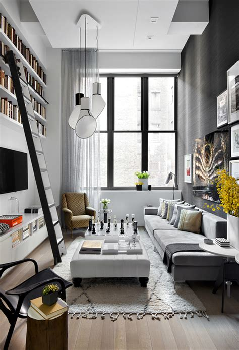 appartements avec de grandes hauteurs sous plafond picslovin