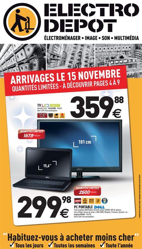 electro depot catalogue 15 novembre 2 d 233 cembre 2012 by