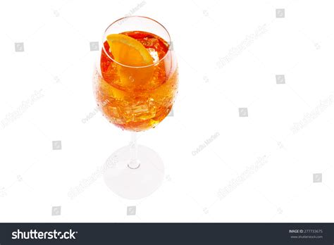 Spritz. Light Alcoholic Drink, Wine-based Stock Photo