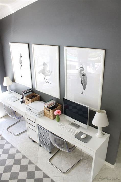 work  style grey home office ideas gray home offices