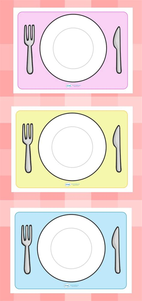 twinkl resources editable plate templates thousands