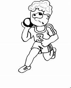 Gewichtheber Nummer 3 3 Ausmalbild Malvorlage Sport