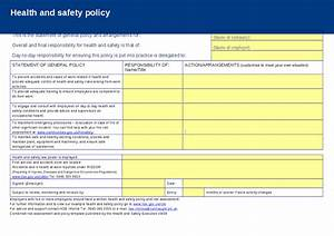 Hse Health And Safety Policy Template Carpet Laying Risk Essment Carpet Vidalondon