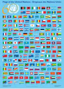 United Nations Countries Flags