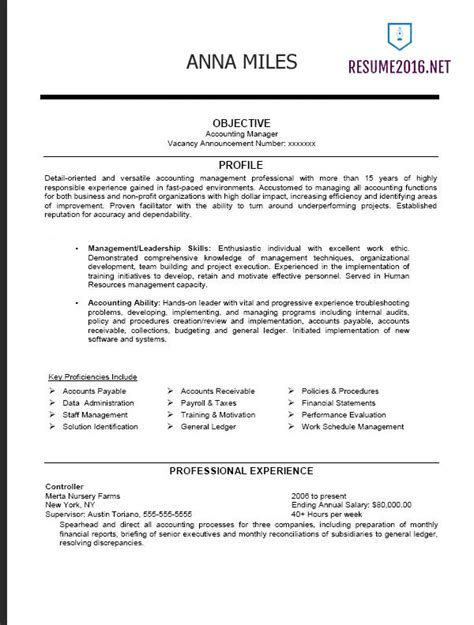 Federal Resume Format 2016  How To Get A Job