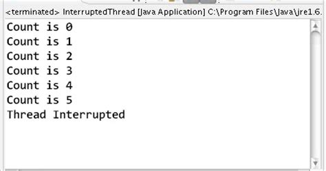 Java Resume Thread After Interrupt by How To Interrupt A Thread In Java Learn Java By Exles