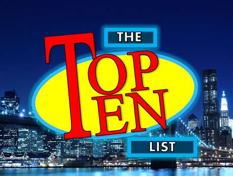 Top Ten Best Intro Templates by David Letterman Top 10 Template Music Search Engine At