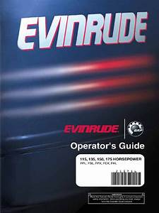 Evinrude 115 Direct Injection Manual