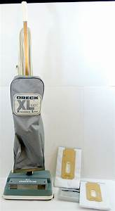 Oreck Xl 100c Xtended Life Upright Vacuum Cleaner W   Two Hepa Filtration Bags