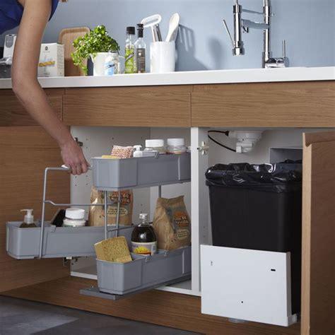 placard sous evier cuisine rangement sous évier cleaning 49 90 castorama