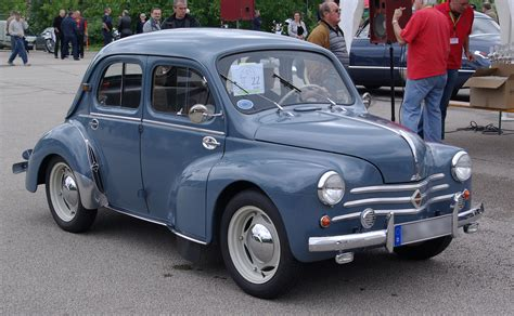 1962 Renault 4cv Information And Photos Momentcar