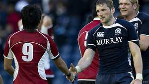 BBC - John Beattie: Shake hands instead of a fist after a game