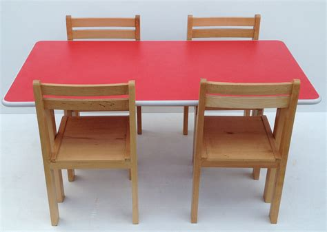 pre school table chairs classroom desk