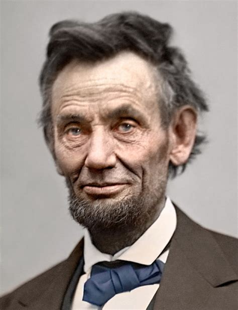 abraham lincoln in color abe lincoln color welcome to the rightly guided