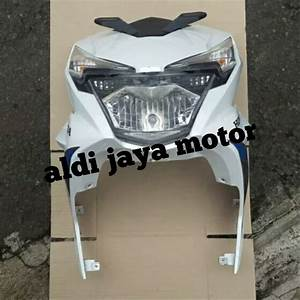 Jual Cover Tameng Dasi Depan Komplit Lampu Honda Beat Eco All New 2016 2017 Pnp Honda Beat