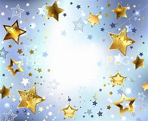 Blue Background with Gold Stars by blackmoon9 ...