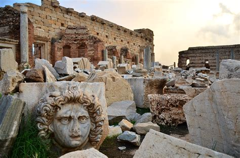 Leptis Magna - Ruin in Libya - Thousand Wonders