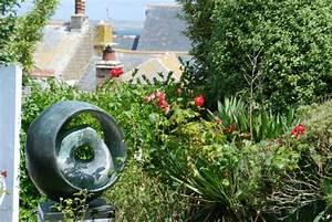 garten mit blick uber st ives picture of barbara With französischer balkon mit bronze statue garten