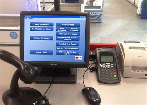 bureau de caisse logol logiciel de point de vente pour caisse