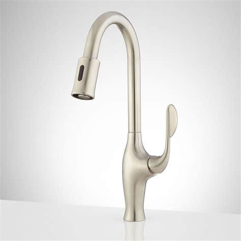 touch sensitive kitchen faucet motion sensor kitchen faucet