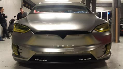 stealth fighter tesla model  skepple