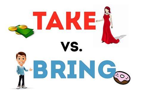 Diferencias Entre Bring Carry Y Take  Ingles Online Gratis