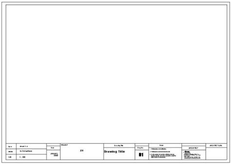 Acad Template by Architectural Title Block Template Pictures To Pin On